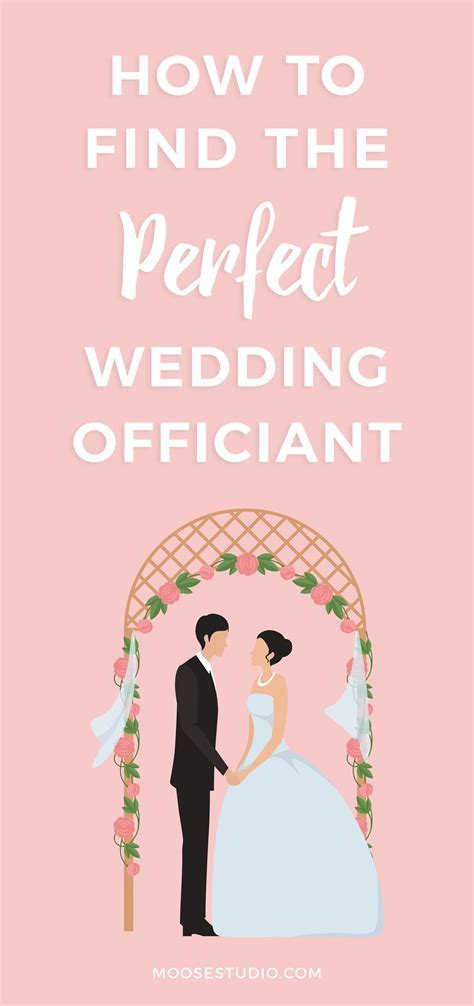 How To Find The Perfect Wedding Officiant For Your Ceremony