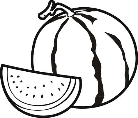 coloring pages for watermelon 31 best images about fruits coloring pages on