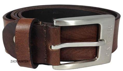 mens 1 5 quot real grain leather belts black brown