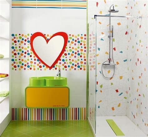 Children S Bathroom Tiles by Ba 241 Os Modernos Para Ni 241 Os