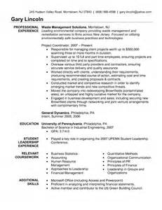 Waste Management Cover Letter by The Most Environmental Services Resume Sle