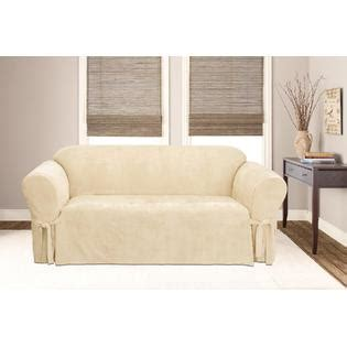 couch covers kmart sure fit soft suede sofa furniture cover cream home