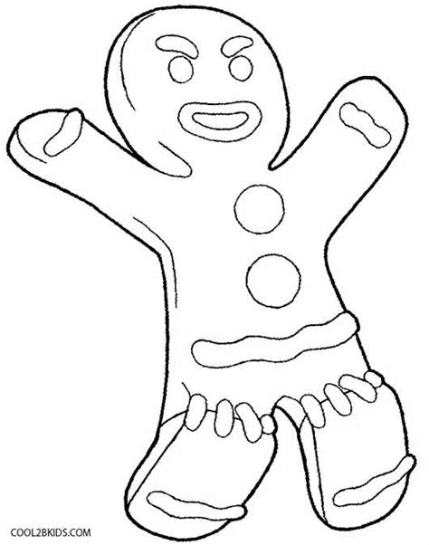 coloring pages the gingerbread man free coloring pages of the gingerbread man