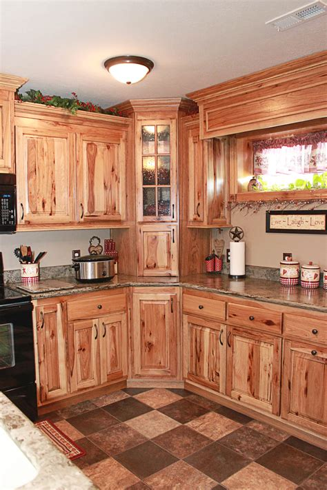 Rustic Cabinets Kitchen The Cabinets Plus Rustic Hickory Kitchen Cabinets