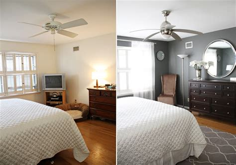 bedroom before and after home staging russointeriorsrussointeriors