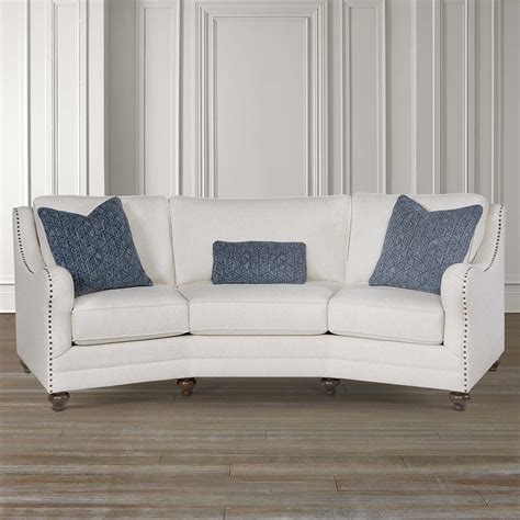 conversation couch marseille conversation sofa bassett home furnishings