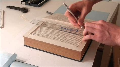 make a book with a secret compartment