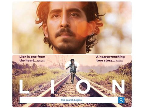 Film Industry Lion Exposed | lion gets its first official india poster english