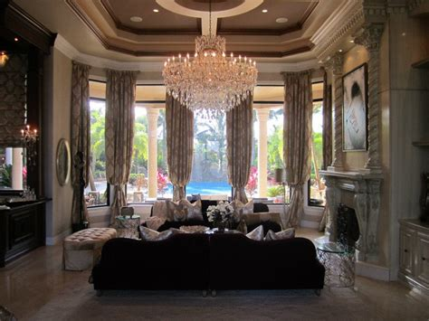 Glamorous Homes Interiors Elegance Luxury Home Furnishings Custom Interior Design Home Pinterest