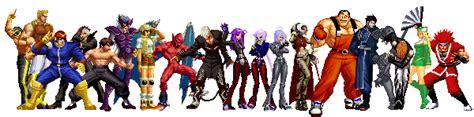 Kaos Gouki kof anthology all characters pack