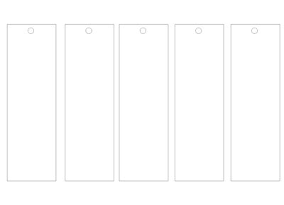 Create Your Own Bookmark Template by Bookmark Template Markings By Pink Gizzy On Deviantart