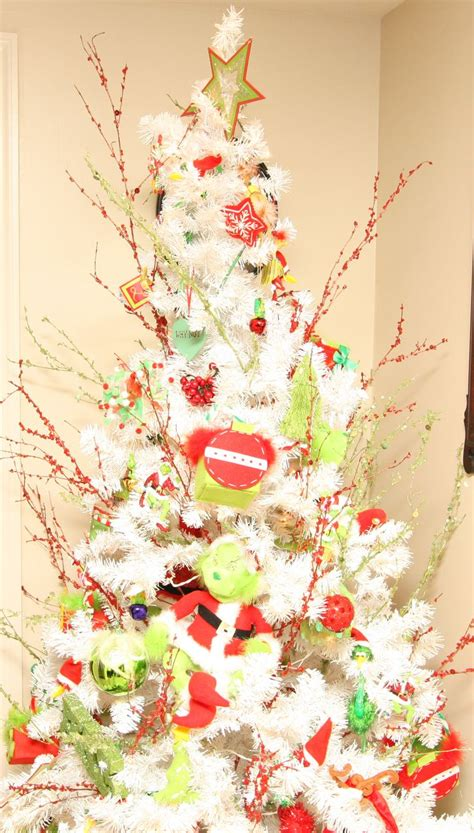 grinch themed christmas tree christmas pinterest