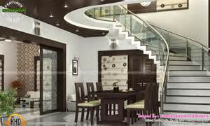 Kerala Home Design With Budget sitting bedroom and dining interiors kerala home design