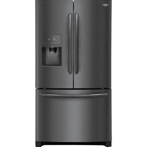 Frigidaire Counter Depth Door Refrigerator by Frigidaire Gallery 21 9 Cu Ft Door Refrigerator In Black Stainless Steel Counter Depth