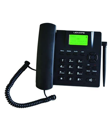 Wifi Gsm 4g buy lexstar lx fwp 4g gsm fixed wireless corded landline