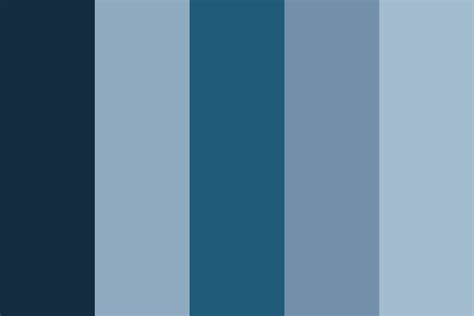 blue color palette feeling blue color palette