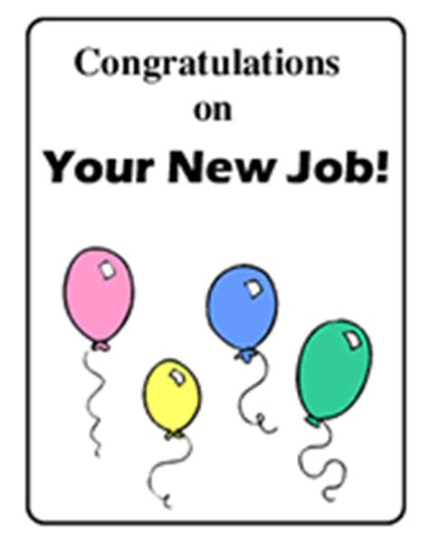 Congratulations On Your New Card Template by Congrats New Clip Caholize