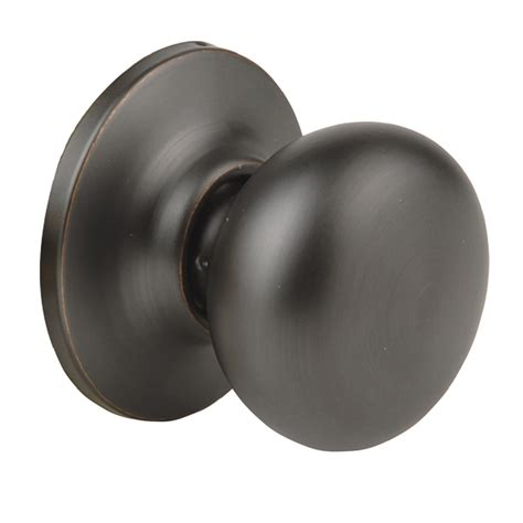 Dummy Door Knobs by Shop Yale Security New Traditions Rubbed Bronze