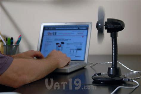 desk fan with usb connection usb desktop fan with 4 port usb hub