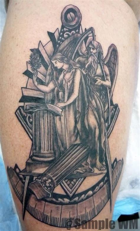 mason tattoo 56 mind blowing masonic tattoos