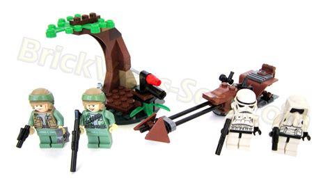 lego 9489 endor rebel trooper and imperial trooper battle pack galactic archives