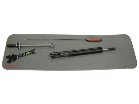 Rifle Cleaning Mat by Tipton Gun Cleaning Maintenance Mat Gray