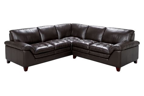 armless sectional pieces amaretto 2 piece leather sectional armless chair at