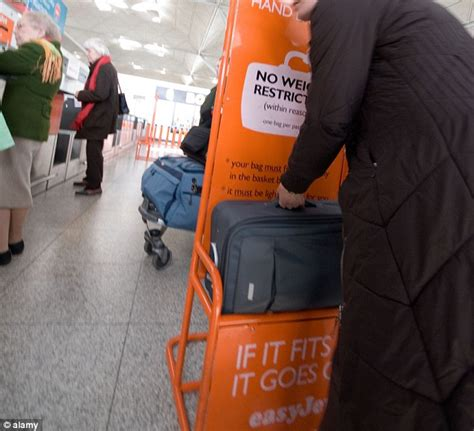 cabin size luggage easyjet better pack light easyjet squashes maximum cabin baggage