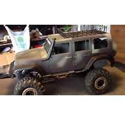 1/10 RC Crawler Body New Bright Jeep Unlimited  YouTube