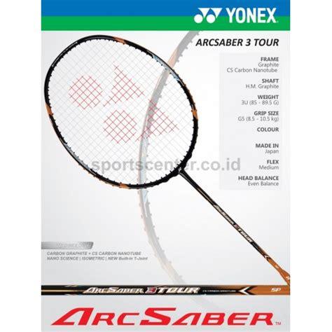 Raket Yonex Arcsaber 10 Jp raket badminton yonex arcsaber 3 tour