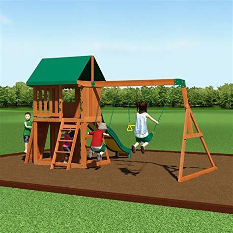 backyard discovery somerset wood swing set backyard discovery somerset all cedar wood playset swing