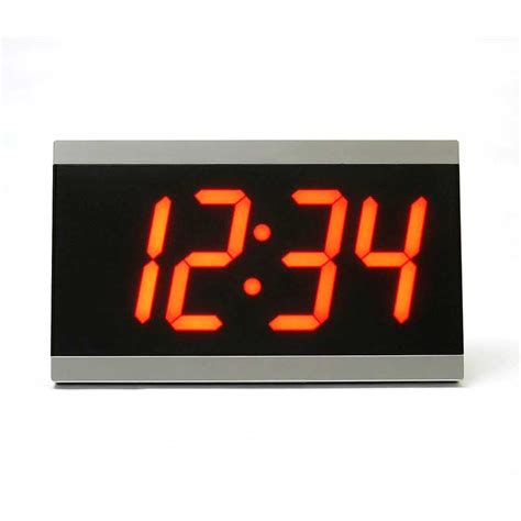 Unique Wall Clock Com sonic alert bd4000 large display wall clock with remote