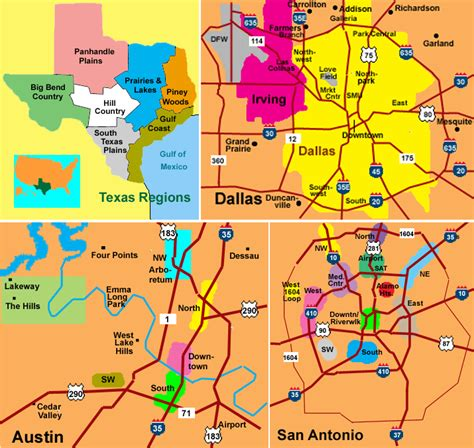 texas landform map texas landforms pictures to pin on pinsdaddy