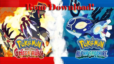emuparadise omega ruby pokemon sapphire rom download for vba