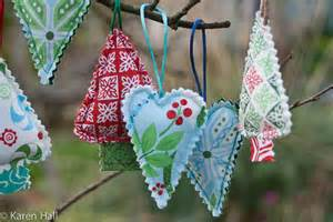 xmas decorations sewing pinterest