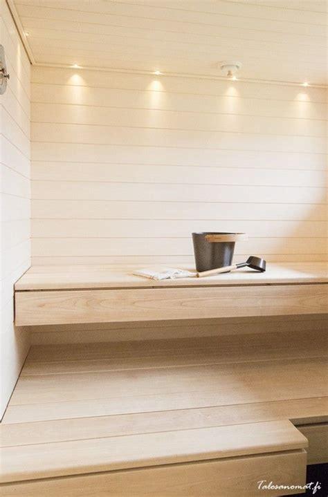 deko modern 2796 saunan haapalauteet ovat oman mets 228 n puista vaalea sauna