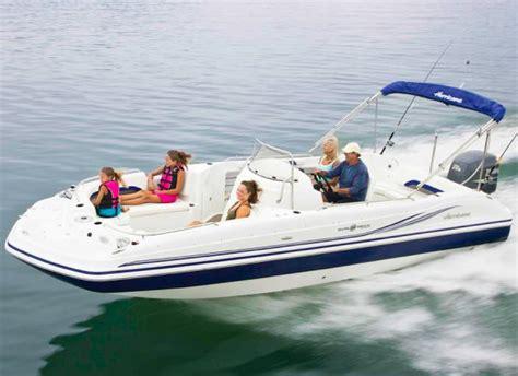 hurricane deck boat transom hurricane sundeck sport 231 ob deck boats new in lake