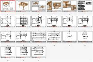 Free Downloadable House Plans by 16x16 King Post Plan Timber Frame Hq