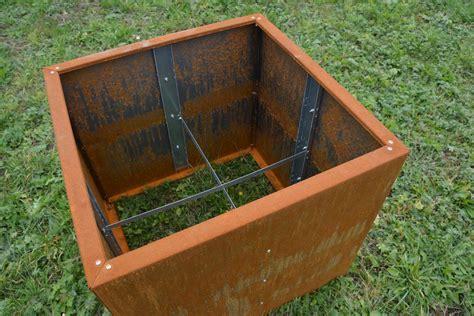 hochbeet stahl hochbeet aus metall 1 5 m x 1 1 m x 0 7 m edelrost