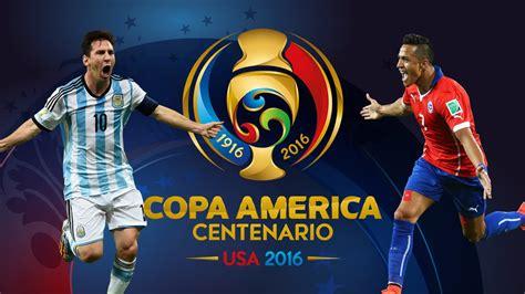 argentina vs chile copa america centenario 2016 promo