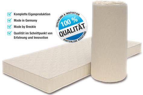 matratze einrollen matratzenset poly 80x200 cm h 228 rtegrad h2 5 premium