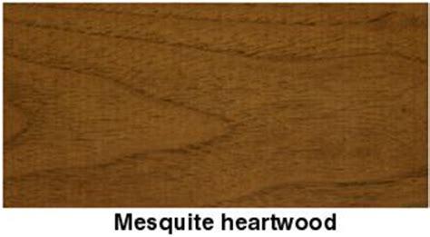 mesquite wood identification