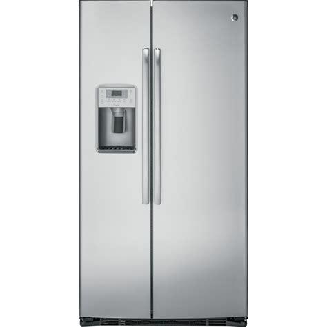 ge cabinet depth refrigerator pzs22mskss ge profile counter depth refrigerator
