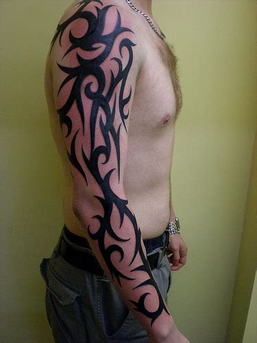 whole body tribal tattoos tribal sleeve tattoos check out these cool tribal sleeves