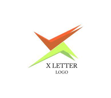 a logo with a x x letter tick right alphabet vector logo inspiration vector logos free