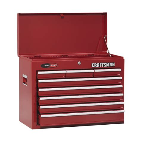 craftsman 6 drawer tool box quiet glide chest craftsman 8 drawer quiet glide chest 26 in wide tools