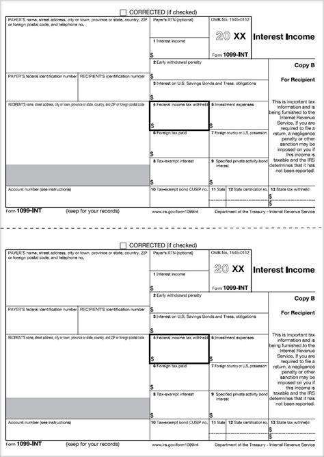 Printable 1099 Forms For Quickbooks Form Resume Exles Gezmev8zok 1099 Copy A Template