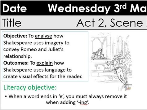 themes of romeo and juliet act 2 scene 2 christy s english media psche shop teaching resources tes