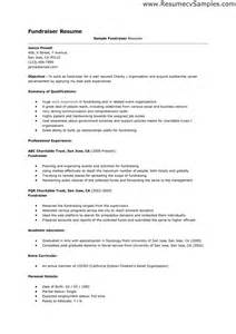 Clerical Resume Templates by Cover Letter For Telephone Fundraising Cover Letter