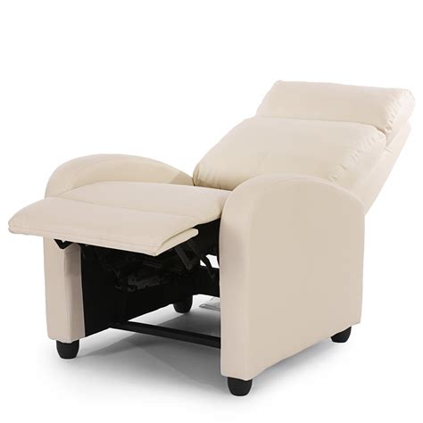 sillon reclinable piel sill 243 n relax reclinable denver en piel color crema